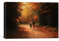 Long Shadows, Canvas Print