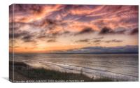 Norfolk sky, Canvas Print