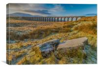 Ribblehead Viaduct Sunrise, Canvas Print