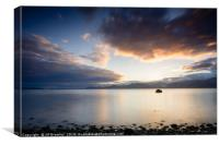 Sunrise over North Wales, Canvas Print