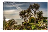 Tropical Tenby, Canvas Print