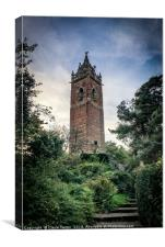 Cabot tower at dusk, Canvas Print