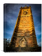 Cabot tower close up, Canvas Print