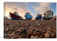 Boats of Beer, Canvas Print
