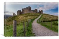 Ruthven Barracks, Canvas Print