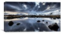 Rannoch Moor No.3, Canvas Print