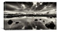 Rannoch Moor No.4, Canvas Print