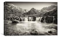 Fairy Pools, Isle of Skye. No.3, Canvas Print