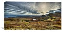 The Trotternish Ridge No. 4, Canvas Print