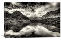 The Cuillin ridge from Loch Coruisk, Canvas Print