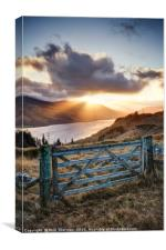 Loch Earn No.6, Canvas Print