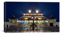 Cromer Pier in the Winter Evening, Canvas Print