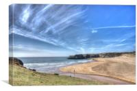Broadhaven Bay, Pembrokeshire, West Wales, Canvas Print