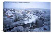 South Wales in the Snow, Canvas Print