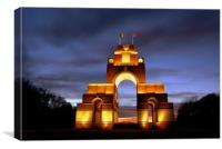 Thiepval Monument monument to the missing WW1 72,3, Canvas Print