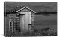 50 Sheds of Grey, Canvas Print