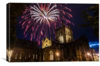 Cathedral celebration, Canvas Print