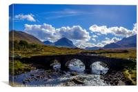 Isle of Skye landscape, Canvas Print
