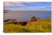 Portsoy Moray Firth, Canvas Print