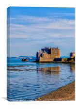 Blackness Castle Firth of Forth, Canvas Print