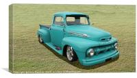 Ford F1 Pick Up Truck, Canvas Print
