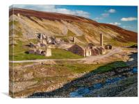 Old Gang Mill 3, Canvas Print