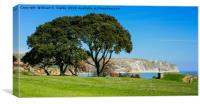 Swanage Bay , Canvas Print