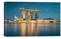 Marina Bay Sands, Canvas Print