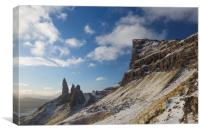 The Old Man of the Storr, Canvas Print