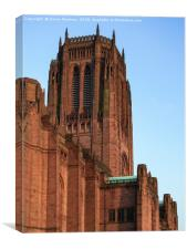 Liverpool Anglican Cathedral, Canvas Print