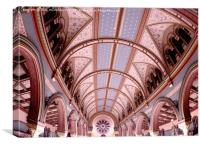Prince's Rd Synagogue Liverpool, Canvas Print