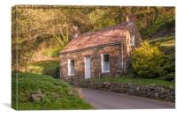 Traditional Guernsey cottage  , Canvas Print