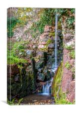 The Old Mill Waterfall, Canvas Print