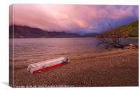 glenorchy morning , Canvas Print