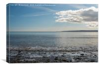 Filey Bay, North Yorkshire - 3, Canvas Print