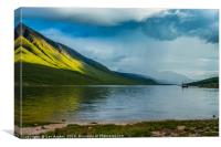 Loch Etive - Calm before the storm, Canvas Print