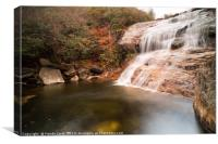 Graveyard Fields Lower Falls, Canvas Print