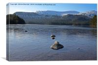 Loch Morlich, Scotland., Canvas Print