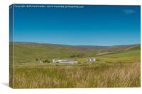 Middle End Farm, Great Eggleshope, Teesdale, Canvas Print