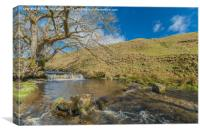 Ettersgill Beck, Teesdale, Canvas Print