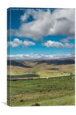Big Sky over Widdybank, Canvas Print