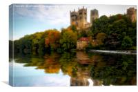 Cathedral Autumn Reflection, Canvas Print