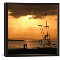 Menorcan Sunset 2, Canvas Print