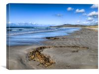 Killinallan Beach, Canvas Print