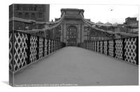 South Portland Street Bridge, Canvas Print