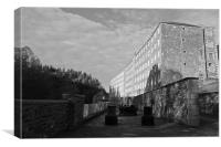 New Lanark Mill, Canvas Print