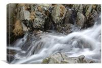 Kirkstone Waterfall V, Canvas Print