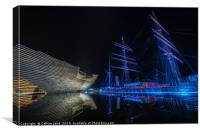 V&A Dundee and RRS Discovery in Dundee, Canvas Print