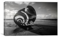 Mary's Shell, Cleveleys, Canvas Print