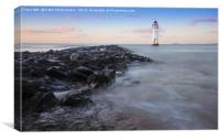 Perch Rock Lighthouse, New Brighton, Canvas Print